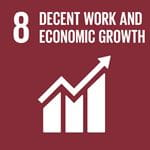 Decent Work and Economic Growth SD Goal Icon